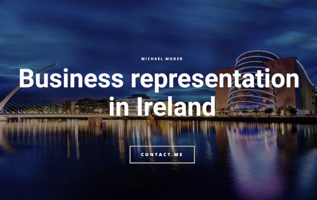 OBCHODNÍ ZASTOUPENÍ PRO FIRMY - SKLADOVÁNÍ, DISTRIBUCE a PRODEJ ZBOŽÍ - PROVOZ ESHOPŮ - pro IRSKO, UK a EU